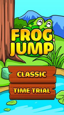 蛙蛙跳一跳