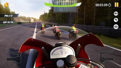 3D摩托骑手