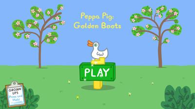 小猪佩奇:金色靴子
