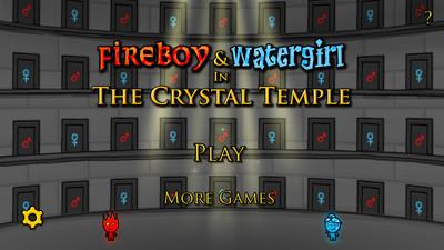 森林冰火人:水晶神殿