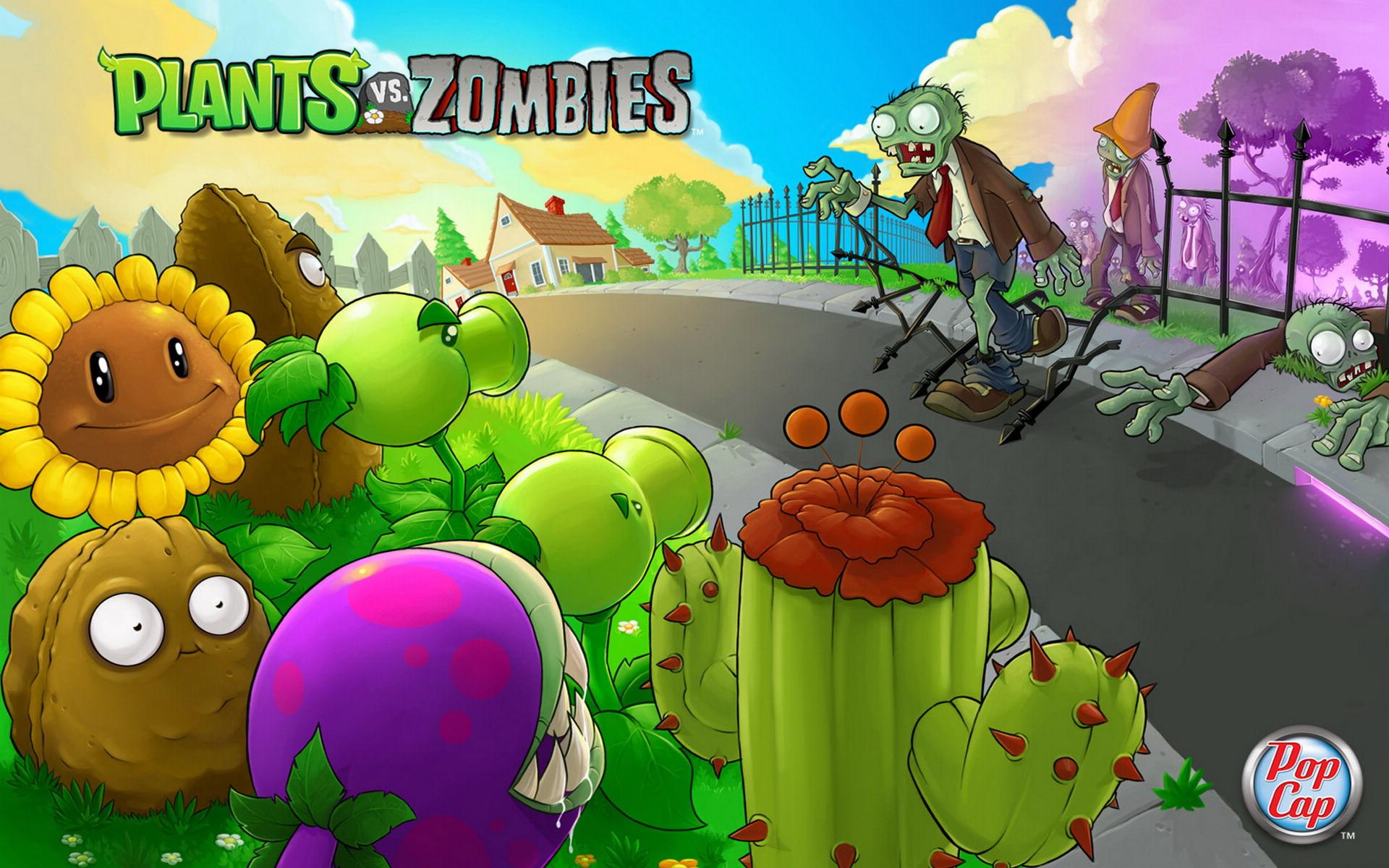 植物大战僵尸系列的游戏合集